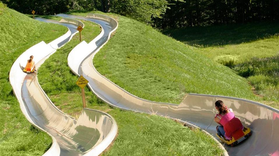 The Alpine Slide Top 10 Most Dangerous Rides in The World