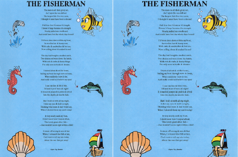 the fisherman, Top 10 Best Poems For Your Kids 2017