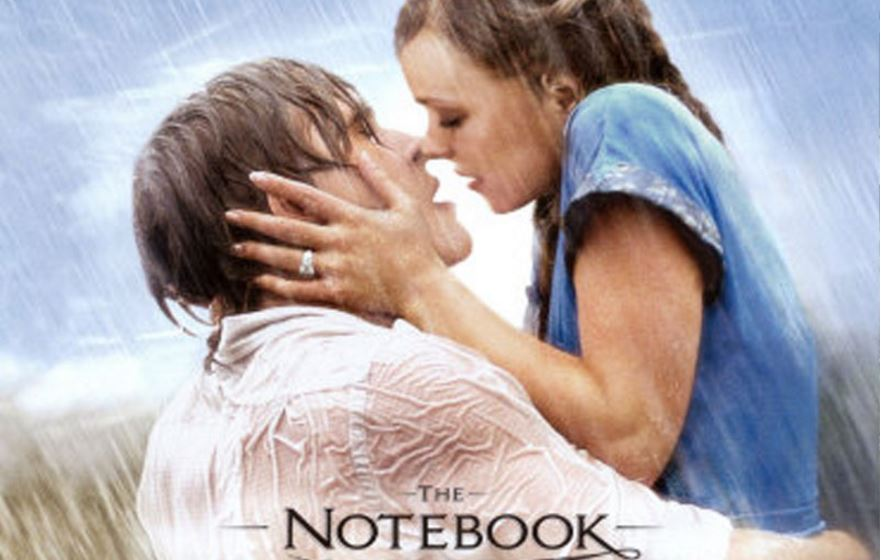 the notebook, Top 10 Most Famous Romantic Movies Of All Time until 2017