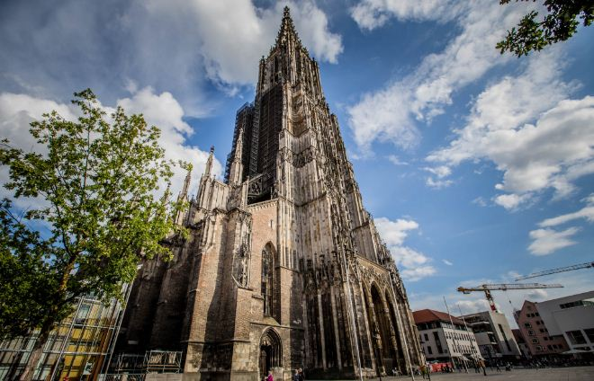 ulm minster, Top 10 Largest Churches in The World 2017