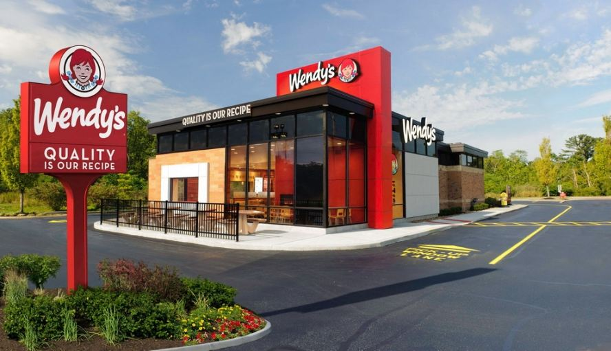 wendys, Top 10 Most Popular Fast Food Chains In USA 2017