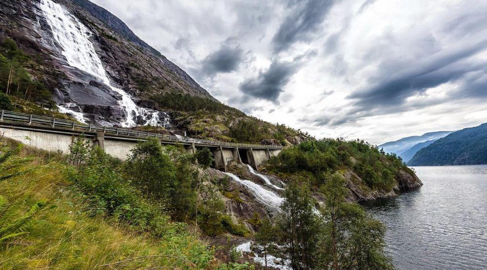 Western Norway, Langfossen Waterfalls, Top 10 Most Beautiful Waterfalls in The World 2017