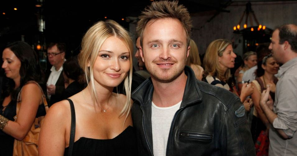 aaron-paul-and-lauren-parsekian-top-ten-worlds-hottest-and-sexiest-couples-2017