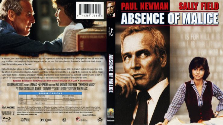 Absence of Malice Top 10 Movies by Sally Field 2017