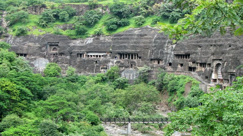 ajanta cave india, Top 10 Wonders of The Ancient World 2017