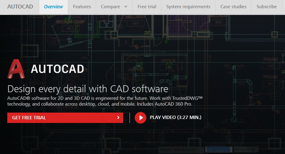autocad, Top 10 Most Expensive Software in The World 2017