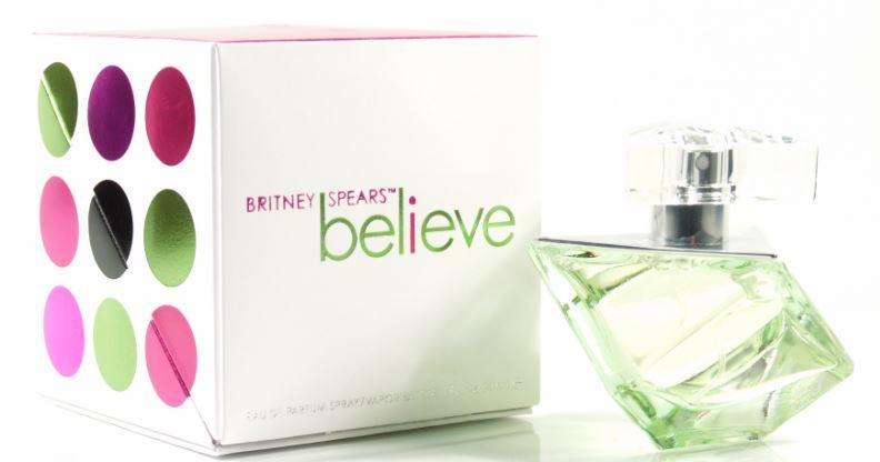 Believe Top 10 Best Britney Spears Perfumes 2017
