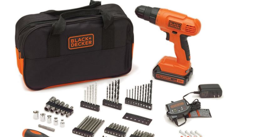 black-and-decker-ldx120px-project-kit-top-most-famous-cordless-drill-reviews-2018