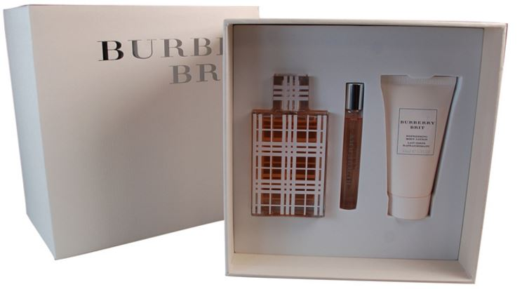 Burberry Brit Gift set, Top 10 Most Popular Burberry Perfume Scents 2017