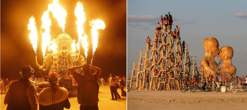 burning-man-united-states-most-popular-festivals