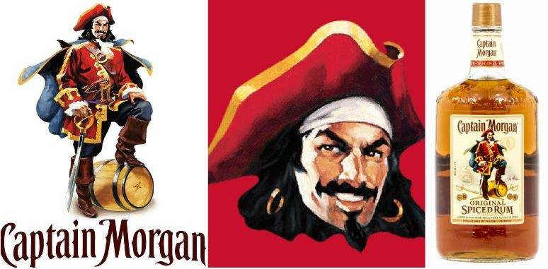 Captain Morgan Top Most Famous Food Mascots in The World 2018