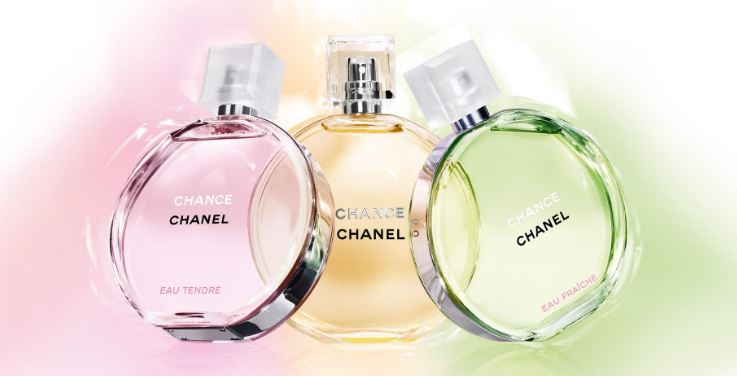Chanel- Chance Top Most Sexiest Perfumes Brands 2018