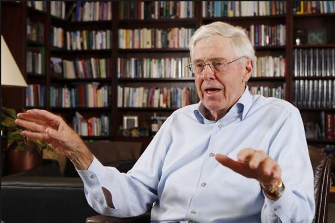 charles koch, Top 10 Richest People in The World2017