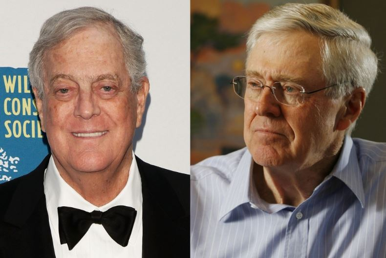 Richest oil tycoons in the world 2017 top 10 list us76 for Charles und david koch