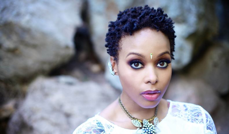 Chrisette Michele Top Most Female Celebrities With Natural Hairs Who Look Better 2017