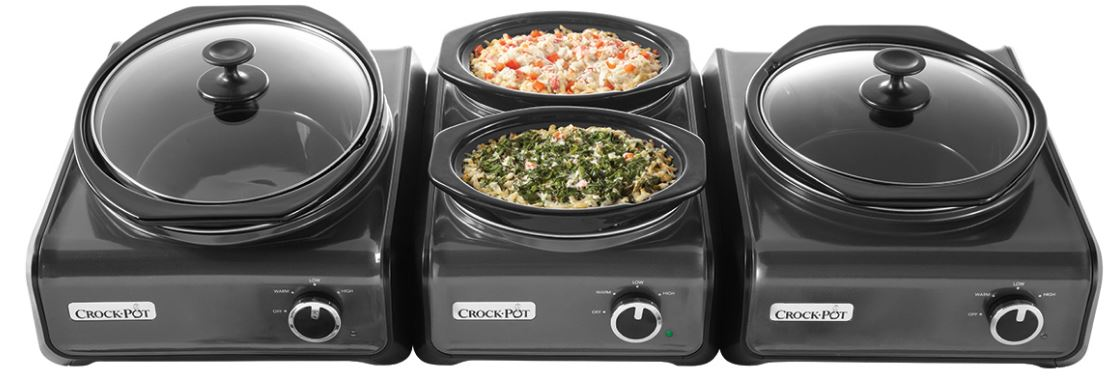 Crock-Pot Hook Up Connectable Entertaining System 3-Piece Set, Top 10 Best Selling Slow Cookers 2017