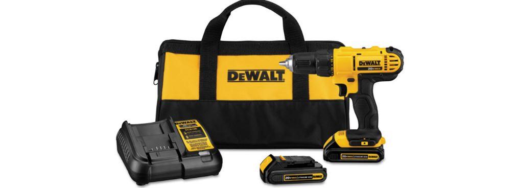 dewalt-dcd771c2-20-volt-comact-drill-top-popular-cordless-drill-reviews-2019
