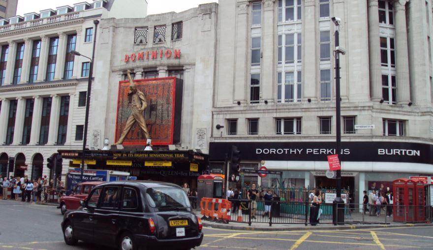 Dominion theatre Top Most Popular Biggest London Theatres 2018