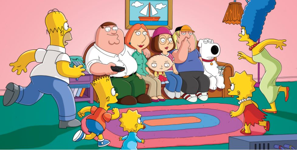 family guy, Top 10 Most Popular Cartoons 2017