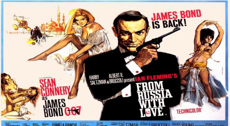 From Russia With Love Top Most Famous Movies by Sean Connery 2018