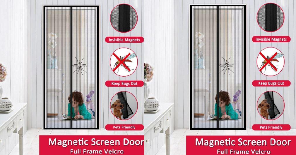 Full Frame Velcro Screen Door