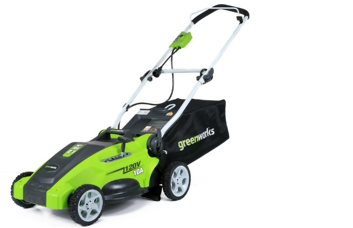 GREENWORKS 25142 Electric Mower Top Most Popular Lawn Mower Reviews 2018