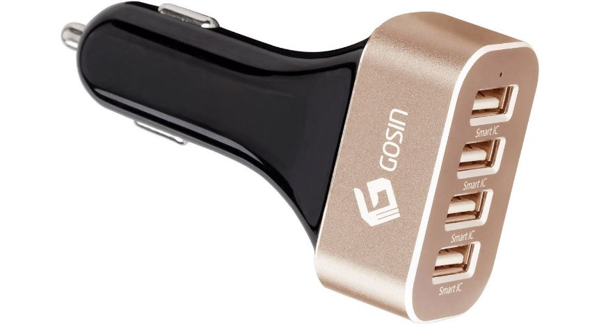 Gosin Car charger Top Most Fomus Selling USB Car Charges in The World 2019