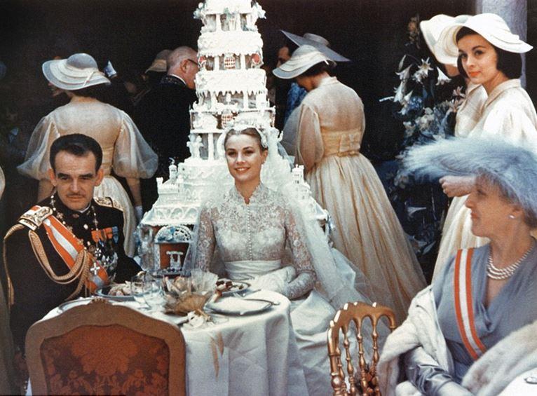 Grace Kelly & Prince Ranier, Top 10 Biggest TV Celebrity Weddings Ever 2018