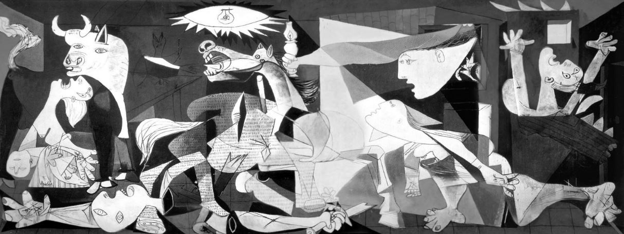 guernica, Top 10 Most Famous Paintings of All Time 2017