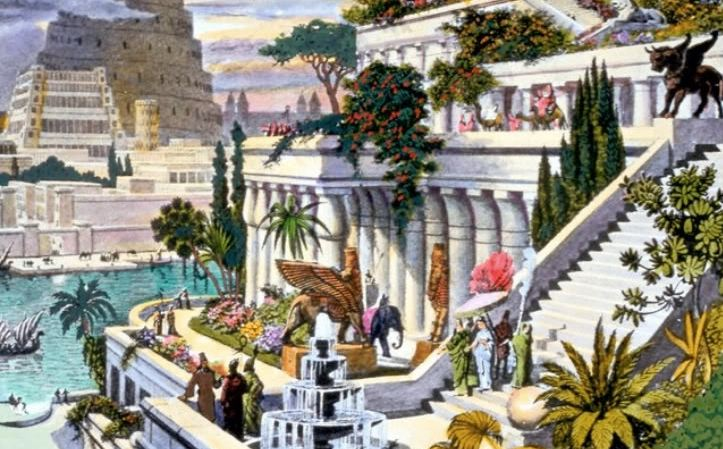 hanging-gardens-of-babylon-iraq-top-famous-wonders-of-the-ancient-world-2019
