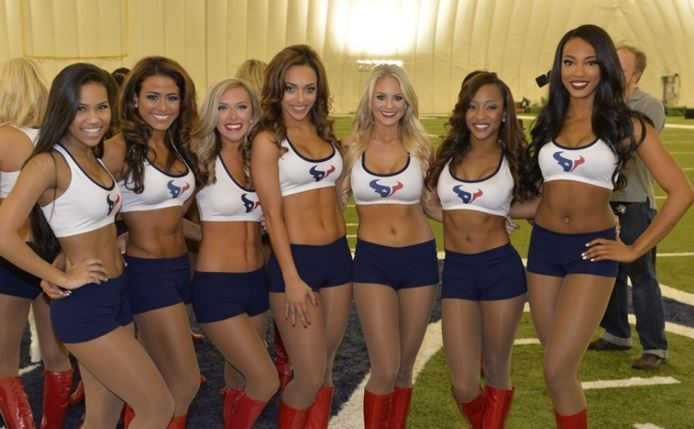 Houston Texans Top Most Famous Cheerleading Squads 2019