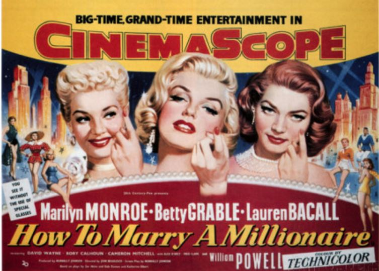 How to Marry a Millionaire Top Most Famous Movies by Marilyn Monroe 2018