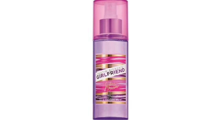 Justin Bieber Girlfriend Bath and Body Collection, Swept Away Hair Top Best Justin Bieber perfumes 2017