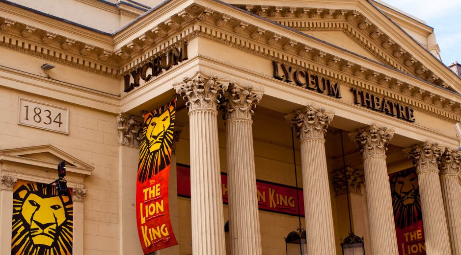 Lyceum Theatre Top Most Famous Biggest London Theatres 2019