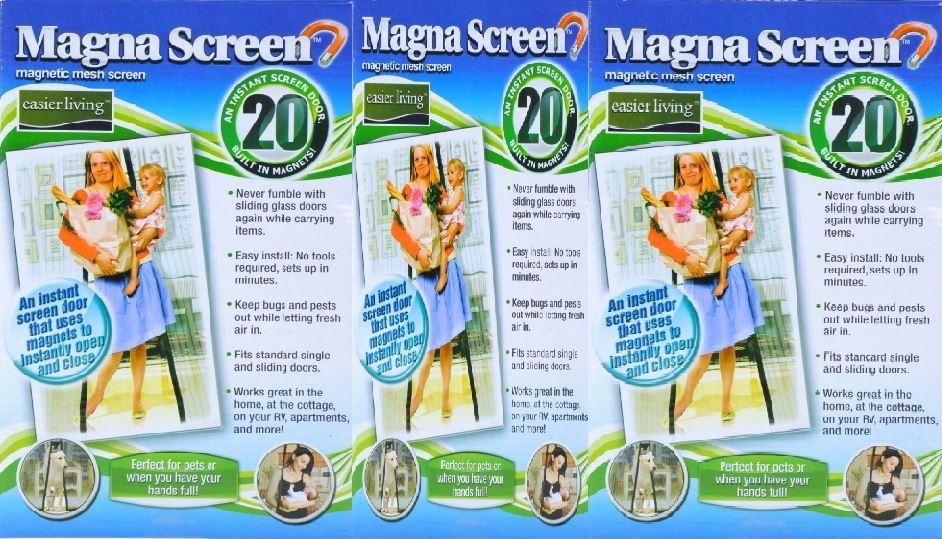 Magna Mesh 20 Magnets Door