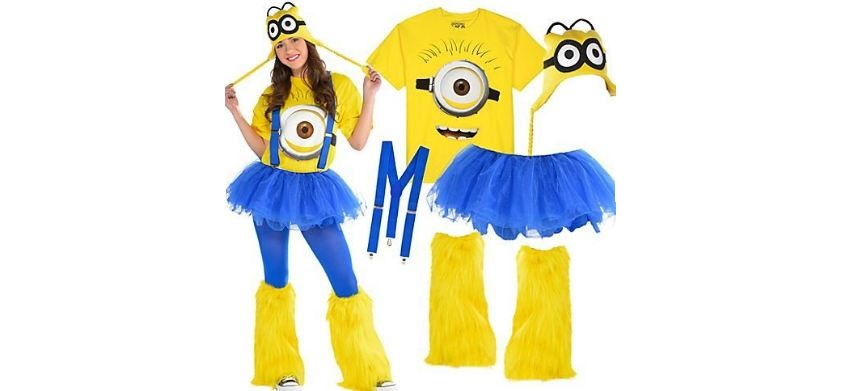 minions costume, Top 10 Best Halloween Costumes For Women 2017