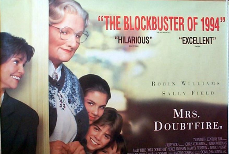 Mrs. Doubtfire Top Famous Movies by Sally Field 2019