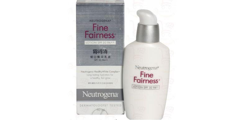 neutrogena-fine-fairness-lotion-top-10-best-fairness-products-for-women