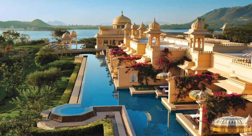 Oberoi Udaivilas, Udaipur, Indian Top Most Famous Beautiful Wedding Places in The World 2019