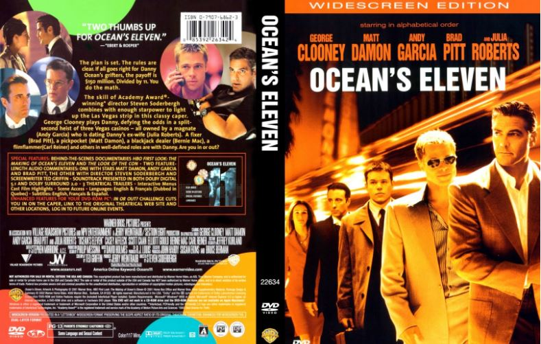 Ocean's Eleven Top Famous Movies by Matt Damon 2019