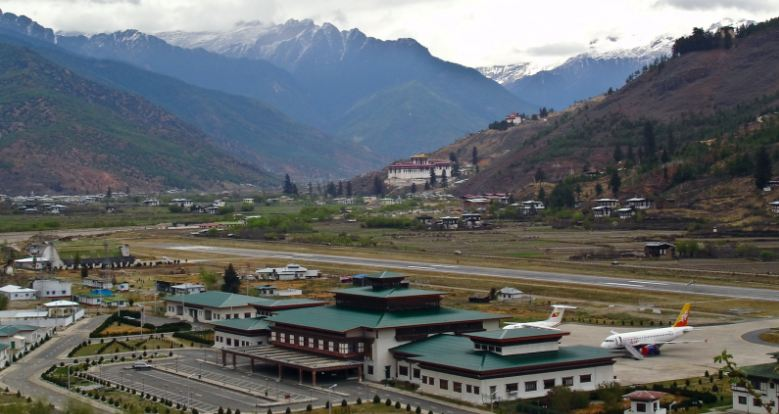 paro-airport-bhutan-himalayan-mountains