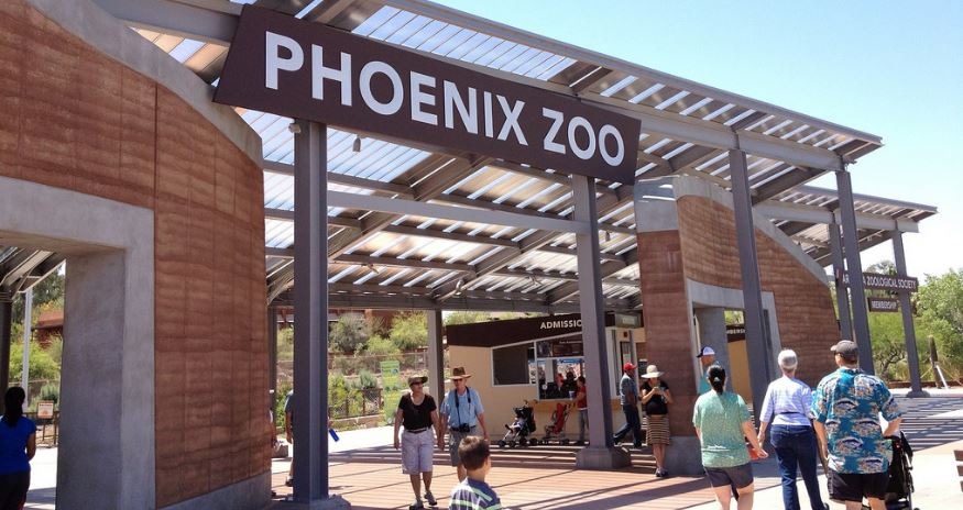 phoenix zoo, Top 10 Best Zoos in The USA 2017