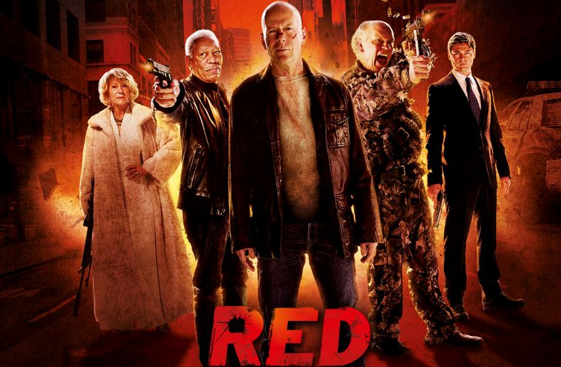 red, Top 10 Movies By Bruce Willis of All Time until 2017