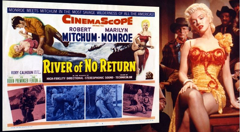 River of No Return Top Popular Movies by Marilyn Monroe 2019