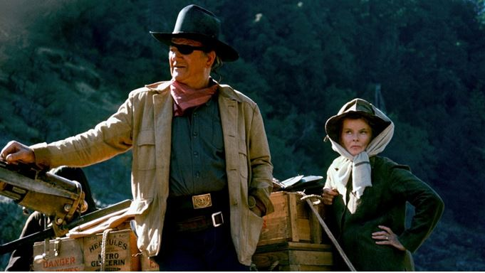 Rooster Cogburn Top 10 Movies by Katharine Hepburn