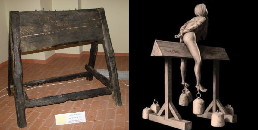 spanish-donkey-top-10-most-cruel-torture-devices