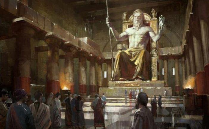 statue-of-zeus-greece