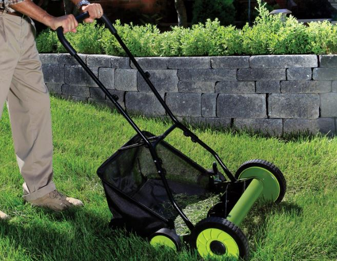 sun-joe-reel-manual-lawn-mower