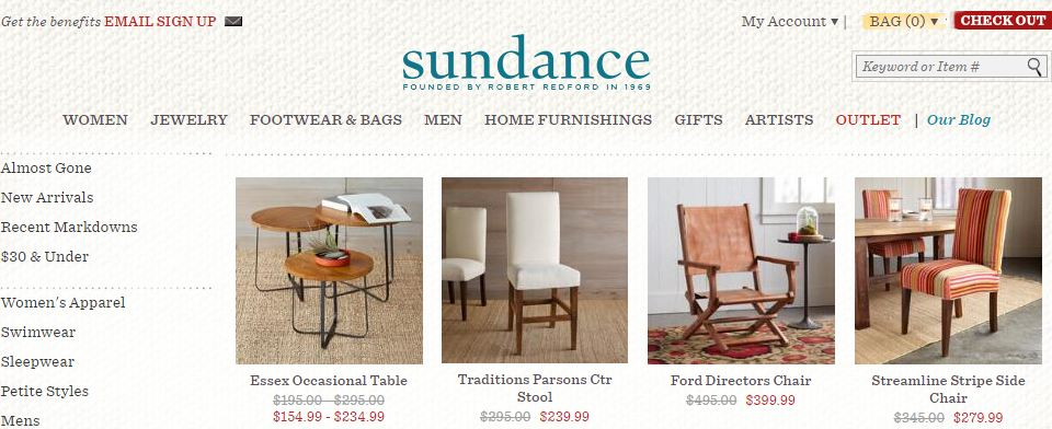 sundance catalog, Top 10 Best Wood Furniture Designers in The World 2017