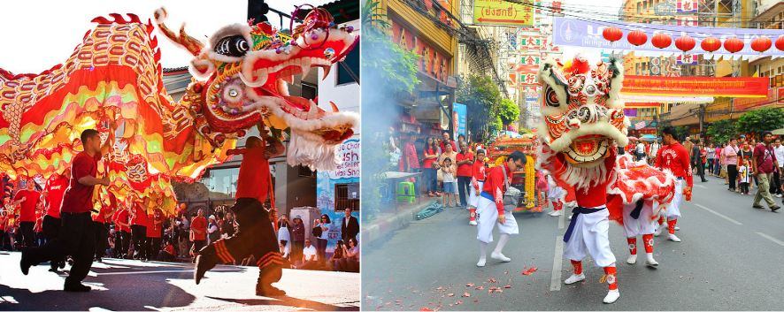 the Chinese new year, Top 10 Most Popular Festivals In The World 2017
